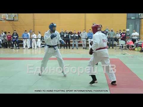 2019 полуфинал -75 кг PUHACHOU - JUMAEV World CAP рукопашный бой Германия