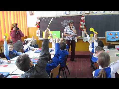 Lectie demonstrativa la matematica - Inv. Mariana Toader - Cls.a II-a A Sc.24 Sibiu