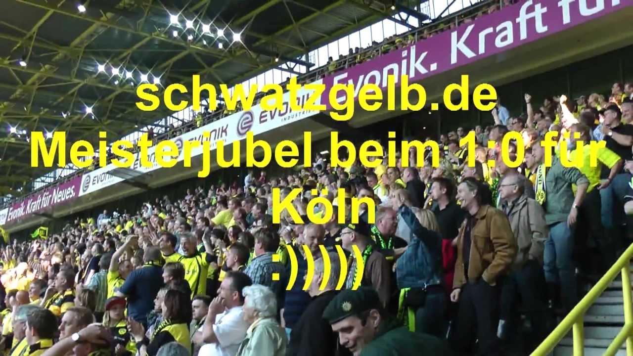 Borussia Dortmund - 1. FC Nürnberg - Meisterjubel 1:0 Köln