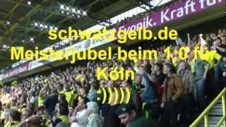 Borussia Dortmund - 1. FC Nürnberg - BVB Meisterjubel 2011 1:0 Köln Meistertor schwatzgelbdevideo