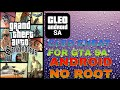 android How to install cleo mod on gta sa without root