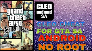 (android)How to install cleo mod on gta sa[without root]