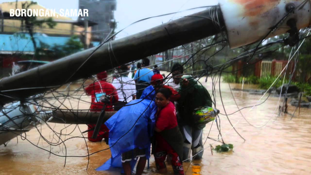 video essay typhoon ruby floods streets of borongan tacloban