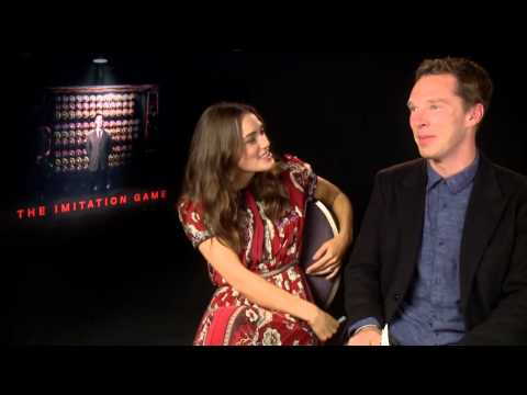 The Imitation Game - Keira Knightley and Benedict Cumberbatch Interview