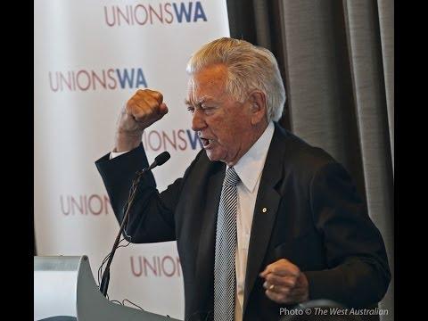 Bob Hawke address - 50th anniversary of UnionsWA