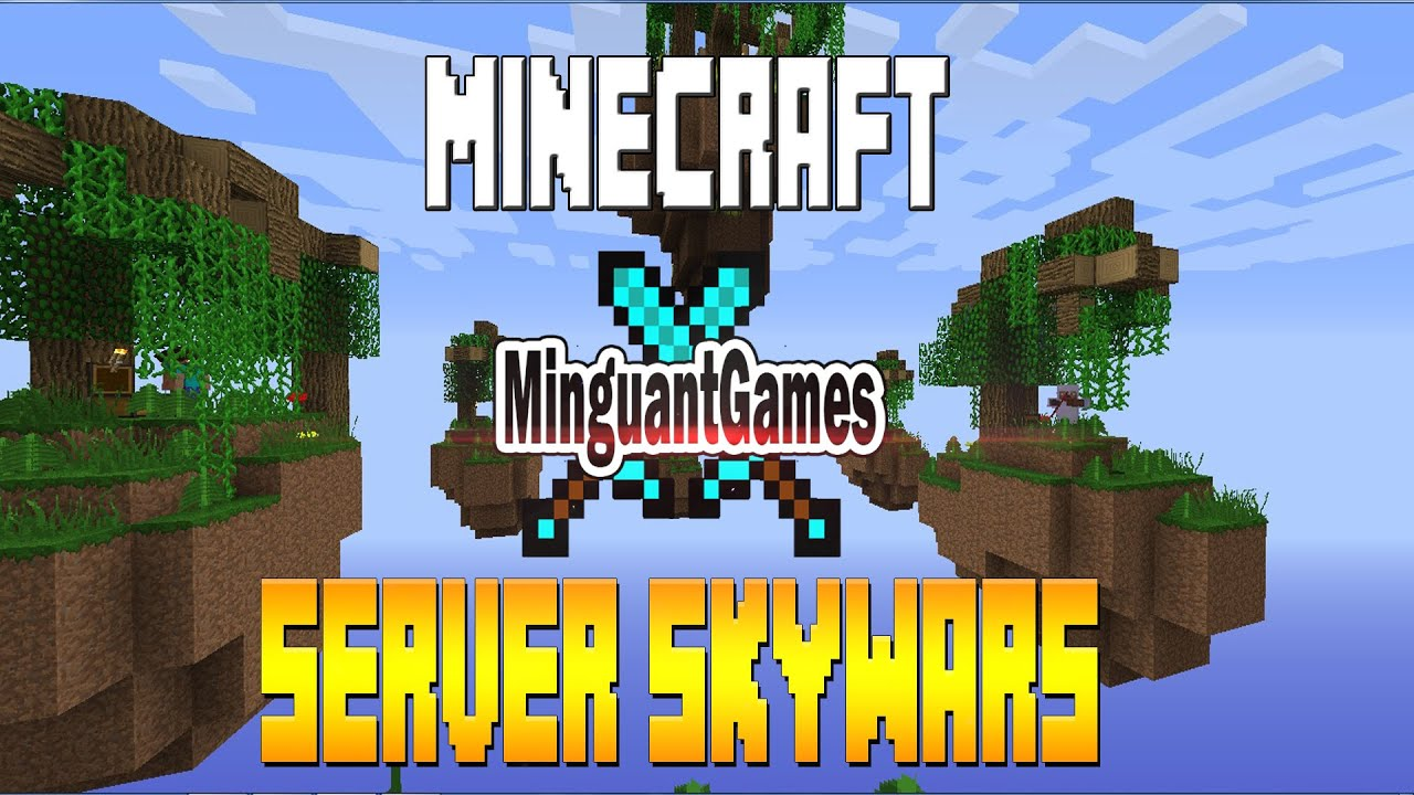 Minecraft: Server Skywars 1.5.2 - YouTube