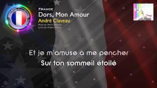 """[1958] André Claveau - """"Dors, Mon Amour"""" (France)"""