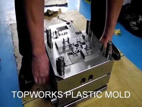 A China plastic mold and injection molding company