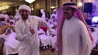 عبدالله بالخير ورقصة مابنسي جميلة  في العرس الشعبي