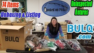 Bulq.com Unboxing - Uninspected Returns - Will I Make Money? - Online Re-selling on Amazon