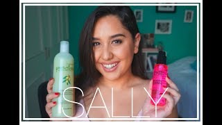 HAUL SALLY BEAUTY SUPPLY  | ABRIL 2018 | LAURA CORTÉS |