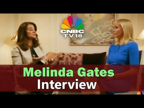 Melinda Gates Interview | Melinda Gates Founation | CNBC TV18