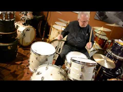 """Steve Maxwell Vintage Drums - (Ludwig/WFL 22/13/16/5.5x14"""" Drum Set - 2/15/15)"""