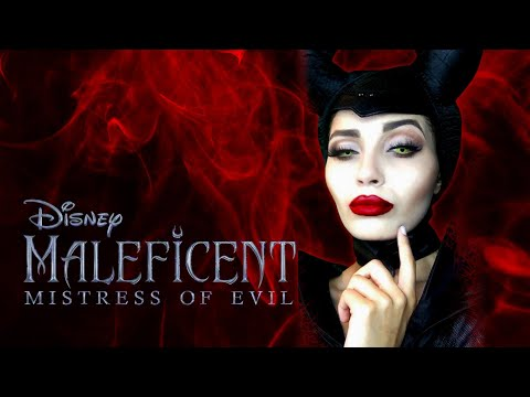 THE K COSPLAY I  MALEFICENT 2 Teaser Trailer - make up thumbnail