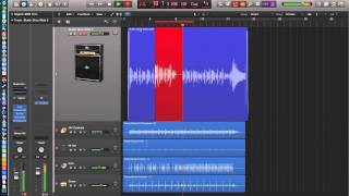 Logic Pro X - Video Tutorial 04 - Autopunch, Quick Swipe Comping, Low Latency Mode, Control Bar