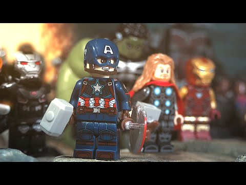 LEGO Avengers Endgame Final Battle Part 1 - 5 Avengers VS Thanos Army