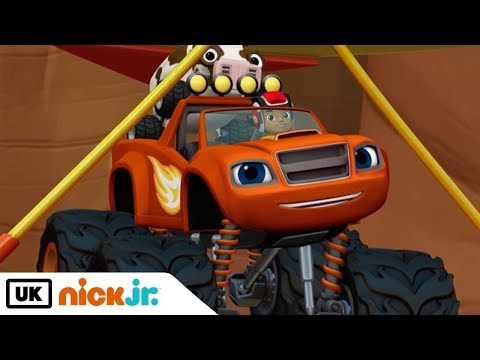 Blaze and the Monster Machines | Cattle Rescue | Nick Jr. UK