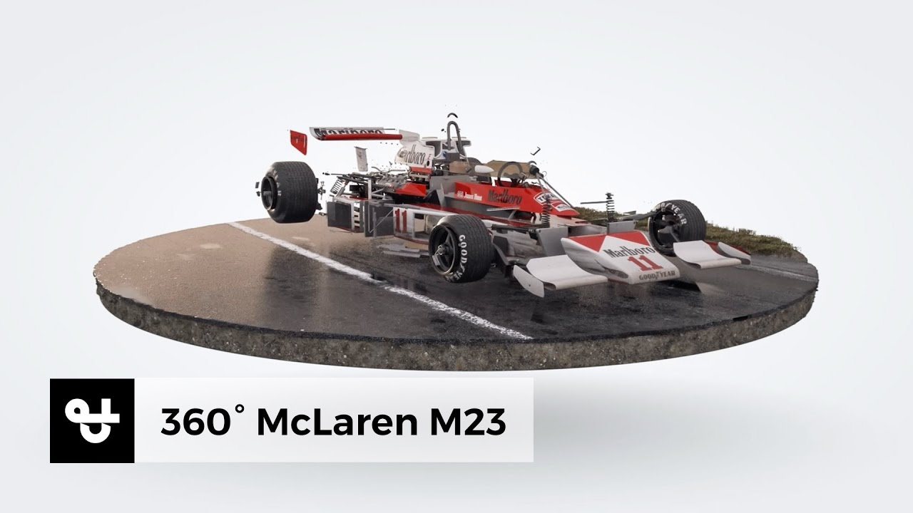 mclaren m23 - james hunt - 3d model - youtube