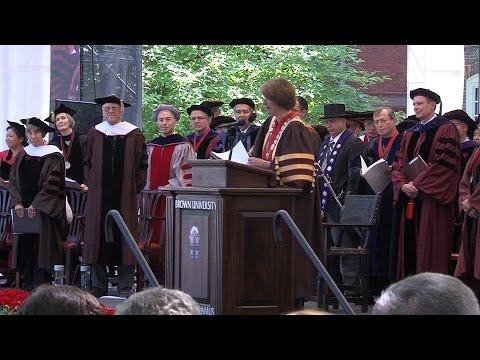University Ceremony 2015
