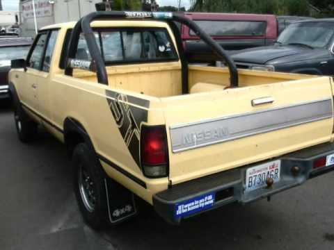 1986 Nissan Pickup King Cab 5-Spd (Pacific , Washington) - YouTube