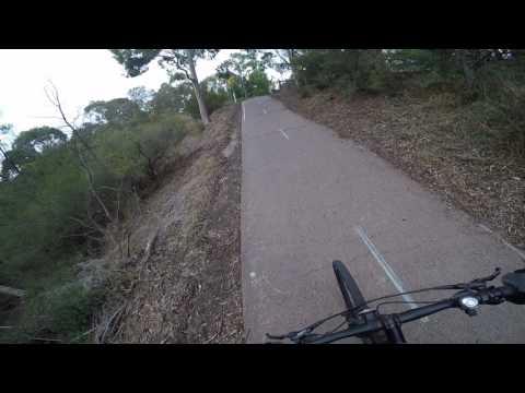 Main Yarra City Trail - Docklands bike ride