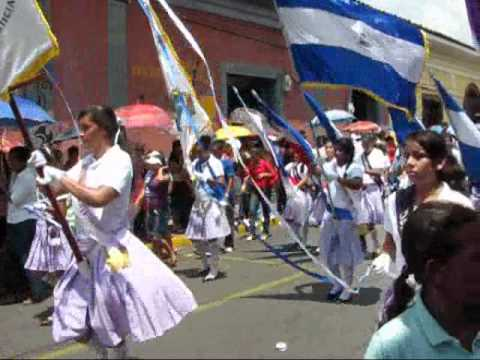 marching bands on independence day león nicaragua 2011 youtube