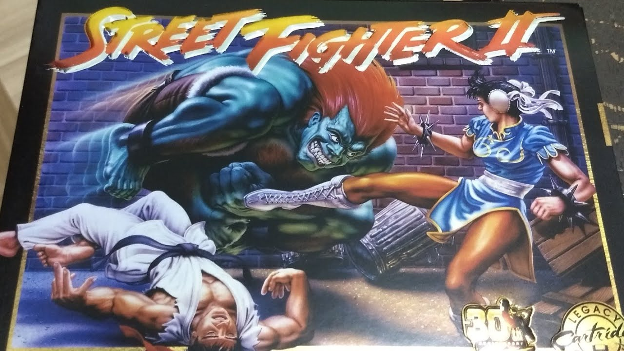 Street Fighter 2 Legacy Collection Youtube