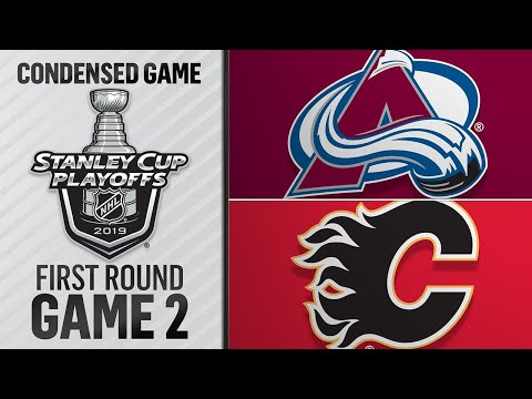 04/13/19 First Round, Gm2: Avalanche @ Flames