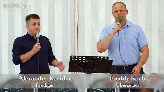 FECG Lahr - A. Kreider - Bibelfestifal 2018
