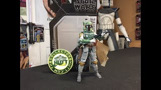 Star Wars The Black Series Archive Collection Boba Fett 6 Inch Action Figure Review