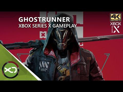 GhostRunner - Xbox Series X Gameplay