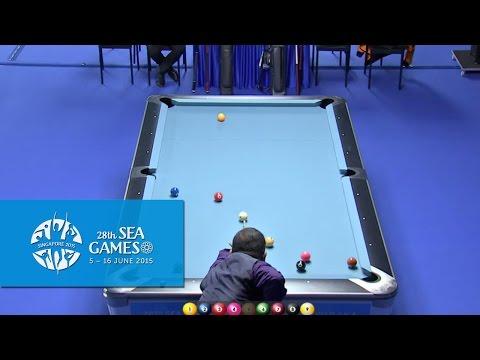Billiards Men's Singles (Day 3) | 28th SEA Games Singapore 2015
