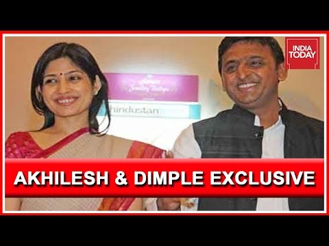 Lucknow Express : Akhilesh Yadav And Dimple Yadav Exclusive Interview On Caste Politics