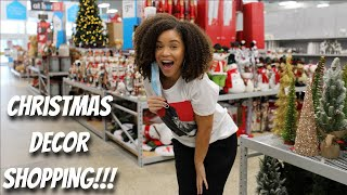Christmas Decor Shopping! | Lyasia in the City
