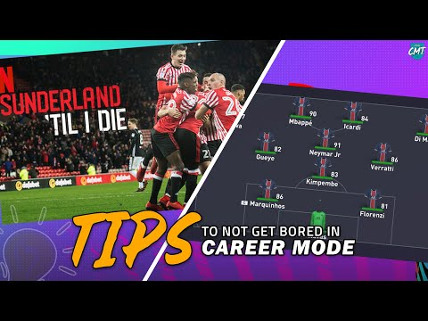 TIPS To Not Get BORED In FIFA21 Career Mode