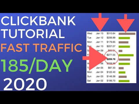 Make $185 Per Day With Clickbank Affiliate Marketing 2020