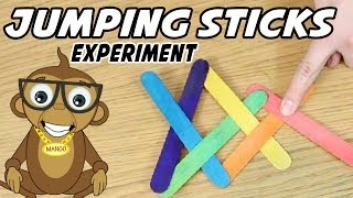 Popsicle Stick Chain Reaction Tutorial