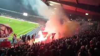 Fortuna Pyro | Eintracht Braunschweig - Fortuna Düsseldorf | 16.12.14  F95