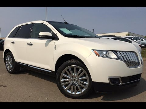 Pre Owned White 2013 Lincoln Mkx Awd In Depth Review Drumheller