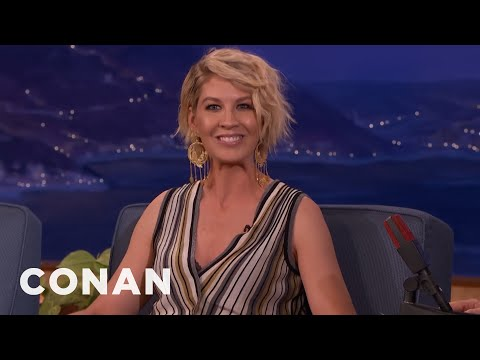 Jenna Elfman Has Sex At Least Once A Week  - CONAN on TBS