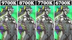 I7 9700K vs I7 8700K vs I7 7700K vs I7 6700K | Tested 13 Games |