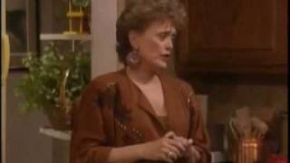 "Golden Girls- ""A Slut and A Moron"" (""From Here To The Pharmacy""/Season 7)"