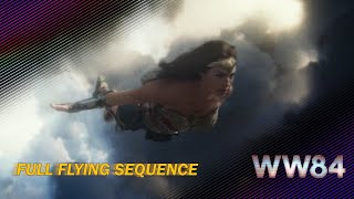 Wonder Woman 1984 Flying Sequence and its DC Movie References