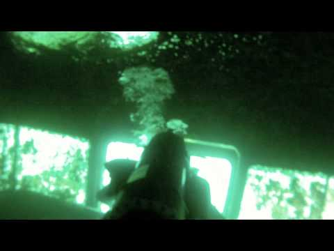 Exploring an Underwater Bus!