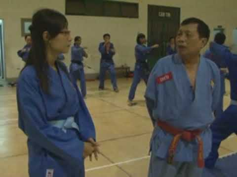 Vovinam Vietnam on TV - Interview to Master Nguyen Van Chieu, part 1 of 2