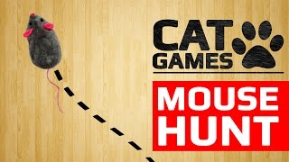 CAT GAMES - MOUSE HUNT (ENTERTAINMENT VIDEOS FOR CATS TO WATCH)