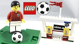 LEGO Sports Soccer / Football Target Practice review! 2002 set 3424!
