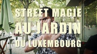 Street magie au Jardin du Luxembourg