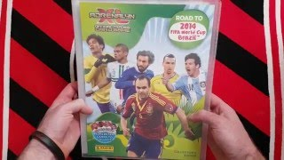 PANINI ADRENALYN XL ROAD TO WORLD CUP 2014 - PREZENTACJA 100% COMPLETE ALBUM