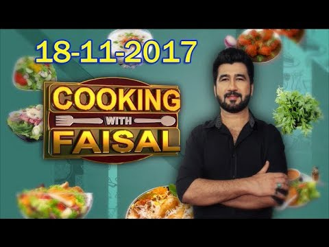 Cooking With faisal  -18-11-2017 - HQ - SindhTVHD